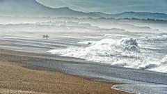 Sortie à la Barre d'Anglet le 10-12-2016 (Filigrane)-9 (yoyolg33) Tags: vert paysbasque côtebasque merocéanplageangletplagedelebarre