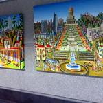 اللوحات ساذجة معرض الفن معرض اللوحة الملونة واسعة الفنان الرسام الإسرائيلي الفنانين فنية الشعبية الرسامين thumbnail