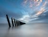 Groynes (Graham - bell) Tags: walney groynes sea seascape longexposure island sunset furness cumbria nikon d7100
