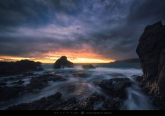End Of Day (The Art of Night) Tags: weather mark gee new zealand wellington astrophotography clouds golden hour landscape long exposure seascape theartofnight