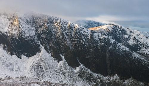 'Craig Trum Y Ddysgl' - Nantlle Ridge, Snowdonia