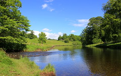 River Teith, Scotland (Graham`s pics) Tags: travel castle history tourism water river landscape scotland scenery tourist historic riverbank stirlingshire doune teith dounecastle riverteith ardochburn gspiccies