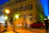 Novara Fiat Cinquecento (GB.BARDELLA) Tags: motion blur by night san italia fiat creative piazza 500 panning nuova cinquecento mosso rossa creativo novara effetto gaudenzio