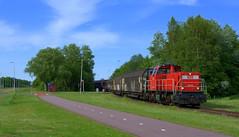 DBS 6434 + schuifwandwagens (Julian Hofmans) Tags: amsterdam henk dbs 6434 westhavens schuifwandwagens