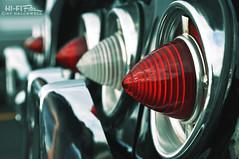 Impossibly Impala (Hi-Fi Fotos) Tags: auto light detail chevrolet lamp car vintage design nikon classiccar bokeh parking tail style icon chevy chrome american americana brake reverse impala cones imagery 1960 bezel d5000 hallewell hififotos