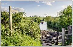 Evening Walk at Gargrave (Digital Wanderings) Tags: canal yorkshire footpath leedsliverpoolcanal leedsliverpool gargrave banknewton priestholmebridge