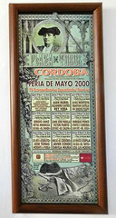 Ubeda Exposición Taurina cartel anunciador de la corrida en Córdoba 2 (Rafael Gomez - http://micamara.es) Tags: córdoba ubeda exposición taurina cartel anunciador de la corrida en jaen carteles corridas toros exposicion pintura antiguo cuadro toreros torero