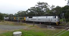 big Danes and little Alcos (sth475) Tags: railroad winter train gm diesel sydney railway loco australia nsw locomotive freight enfield mfn mz dsb 1440 mz3 1433 emd 864 872 nohab goodsline 14class mziii jt36c