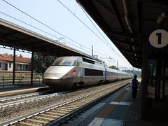 Avigliana, Giugno 2015. (633massimo) Tags: torino stazione tgv sncf ferrovia frejus modane avigliana