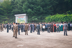 North Korea Locals (reubenteo) Tags: travel people tourism local northkorea dprk juche pyongsong