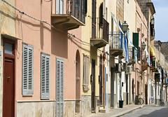 Favignana Street (albireo 2006) Tags: street italy italia sicily streetscape sicilia favignana isoleegadi egadiislands