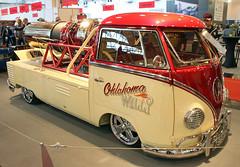 Jet Bulli (Schwanzus_Longus) Tags: essen motorshow motor show german germany old classic vintage car vehicle jet helicopter engine volkwagen vw t1 transporter bulli bully pick up pickup