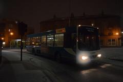 Arriva Merseyside 8214 - M514 WHF (North West Transport Photos) Tags: arriva arrivamerseyside arrivanorthwest volvo b10 b10b b10b58 volvob10b wright wrightbus endurance wrightendurance m514whf 8214 6514 mtl mtlnorth mtlsouthport woodside railreplacement bikebus merseyrail loopline looplinereplacement trackrenewal moorfields hamiltonsquare bus snow night