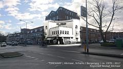 Alkmaar, Scharlo ca1970-2017 (Regionaal Archief Alkmaar) Tags: alkmaar timewarp toenennu rephotography thenandnow bergerweg scharlo stationsweg