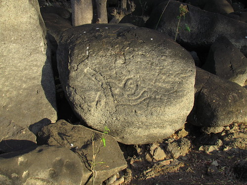 Ancient Rock of Güija Lake 2