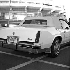 Biarritz (Ilya.Bur) Tags: cadillac biarritz vintage car minolta autocord rokkor 75mm f35 kodak trix 400 caffenolcl 35min20c analog film bw black white blackwhite monochrome