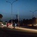 Night scene in Niamey