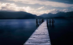 te anau jetty (Locomotive-DXC New Zealand) Tags: te anau jetty is town southland region south island new zealand it eastern shore lake fiordland largest within second only taupo