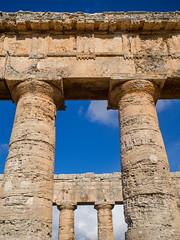 Segesta-5 (aramshelton) Tags: sicily greek greektemple ancient goldenhour