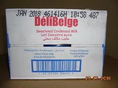 DeliBelge Sweetend condensed milk -Lait concentre sucre- DANO FOOD (5) (DeliBelge-DANO FOOD) Tags: milk condensed dairy mayonnaise belgium danofood dano food delibelge lait uht cookingoil palmoil africa spaghetti huil huilvegetal milkpowder liat laitenpoudre uhtmilk babyfood babymilk infant huiledecuissonvégétal