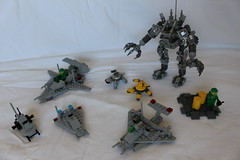 LEGO_Classic_Space (TH3_J03Y_G) Tags: lego neo classic space peter reid robot turtle 21109 exo suit 6801 rocket sled 6861 x1 patrol craft 885 scooter 442 891 shuttle two man spaceship happy new year 2017