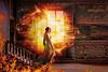 Rooms on fire (jinterwas) Tags: roomsonfire fantasy photoshop houseonfire brand fire vlammen flames medieval middeleeuws kasteel castle sweden zweden photoshopped manipulated