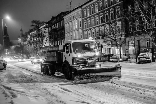 Winter in Stettin, 2017