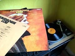 "David Bowie, ""Low"", Japanese LP (The_Kevster) Tags: record lp album low bowie 1977 vinyl turntable lp12 sondek linn arm platter hifi davidbowie japan japansepressing iphone apple iphonese berlin brianeno rca"
