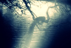 Memory of the waters (Samkale Bellacrux) Tags: water agua river rio dark darkness oscuridad mist niebla lucid misterious