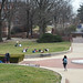 A Warm Winter Day on McKeldin Mall