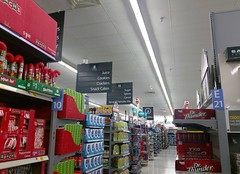 In the trenches, middle of Grocery department (l_dawg2000) Tags: 2016remodel blackdecor20 remodel spark sparklogo iuka mississippi unitedstates usa