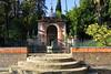 Real Alcazar (hans pohl) Tags: espagne andalousie séville alcazar stairways escaliers nature arbres trees architecture arches tiles faïences