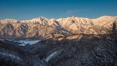 Snowy mountains in the morning sun (shinichiro*) Tags: 北安曇郡 長野県 日本 jp 20170201ds42238 2017 crazyshin nikond4s afsnikkor2470mmf28ged january winter fuji hakuba nagano japan 32526108361 900872 201704gettyuploadesp