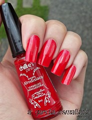 Esmalte afrodisíaco Vermelho Arrasadora, da Chillie's Pink. (A Garota Esmaltada) Tags: agarotaesmaltada unhas esmaltes nails nailpolish manicure esmalteafrodisíaco afrodisíaco vermelhoarrasadora vermelhoscompimenta chilliespink vermelho red