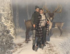 Warm Winter (Anuska L.) Tags: winter2016 winter snow love couple nature forest fashionblog fashionstyle fashionvictims fashionista fashionblogger femalefashion unisex unisexfashion 3d 3dgirls 3dpeople digital digitalart digitalphotography digitalfashion dreams january tetra shakeup spiritstore essenz uber fashionowl treschic