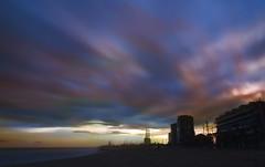 Las tres chimeneas. (Ramirez de Gea) Tags: tokinaaf1224mmf4 cielo sky sunset