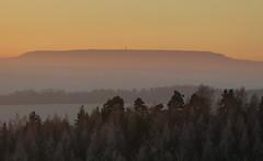 Morgengruß.... (isajachevalier) Tags: hoherschneeberg elbsandsteingebirge sächsischeschweiz landschaft sachsen sonnenaufgang panasonicdmcfz150