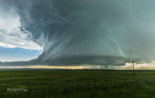Simla, Colorado - Low-Precip Supercell with wedge tornado
