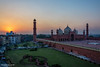 Sunset at King's Mosque (Badshahi Mosque) (M. Ashar) Tags: pakistan sunset architecture photography mosque lahore