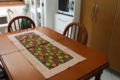 Trilho ovinhos (ceciliamezzomo) Tags: kitchen easter table happy handmade egg pscoa eggs feliz patchwork decor runner cozinha ovo ovos decoracao trilho