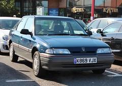 K869 VJX (Nivek.Old.Gold) Tags: rover 1993 5door 16v 214 sli