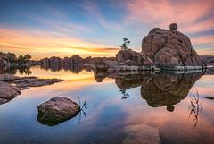 Watson Lake 16145-Edit (Michael-Wilson) Tags: longexposure sunset reflection sunrise watsonlake michaelwilson