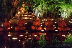 wat_pantao_31r (khunkay's gallery) Tags: beautiful festival lights bokeh เชียงใหม่ บวช พระ yeepeng เทียน โบเก้ เณร จุดเทียน สวดมนต์ วัดพันเตา ระเบิดซูม นั่งสมาธิ ผางประทีป วันพระ พุทธบูชา