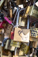 The Master of Love (Not-the-average-Joe) Tags: street bridge paris france art love graffiti cadenas lock arts des amour pont