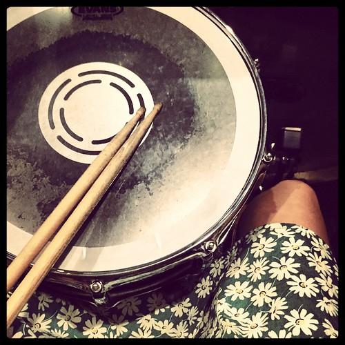 Drumming 20150714 #winnieup #hk #drums #music #hongkong