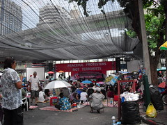 CIMG0516 (S.J.L Photography) Tags: road street dead thailand soldier major nokia cityscape shot general bangkok protest streetphotography police casio shooting fighting exilim redshirts 5800 xpres exz1 khattiya sawasdipol