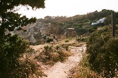 000140040016 (idelfons) Tags: ocean street city light sea urban cliff sun hot film portugal girl analog forest 50mm seaside wind olympus heat analogue olympusom2 portuguese om2 zuiko11850mm agfavistaplus200