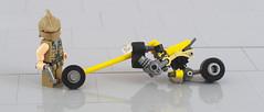 Tadashi and his Honda SpidR (F@bz) Tags: bike lego motorcycle akira cyberpunk