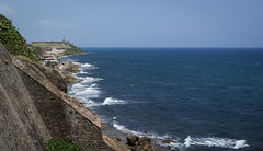 Fuerte San Felipe, El Morro (Plasmatico) Tags: old puerto san juan sony cybershot el rico morro cristobal fuerte carlzeiss rx1