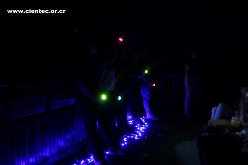 Taller Pintando con Luz en Colegio Humboldt